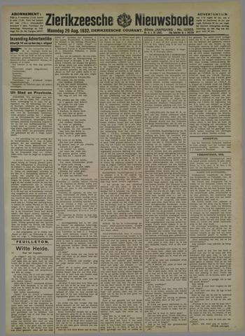 Zierikzeesche Nieuwsbode 1932-08-29