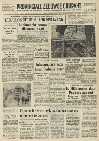 Provinciale Zeeuwse Courant 1961-11-20
