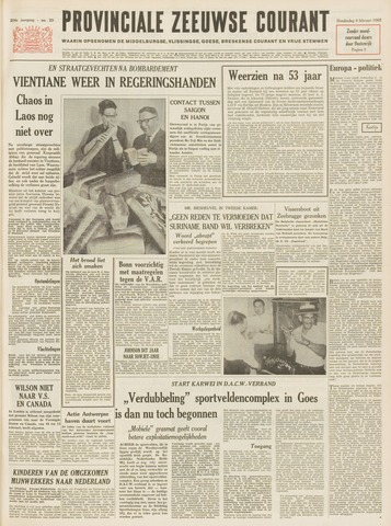 Provinciale Zeeuwse Courant 1965-02-04