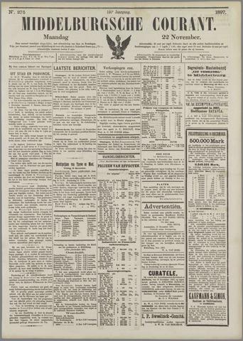 Middelburgsche Courant 1897-11-22