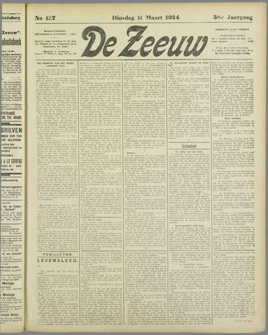 De Zeeuw. Christelijk-historisch nieuwsblad voor Zeeland 1924-03-11