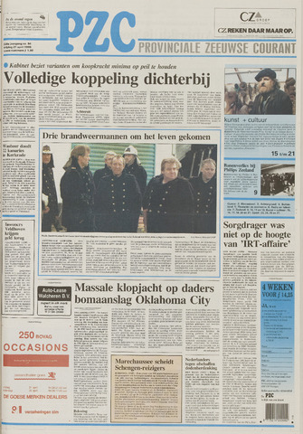 Provinciale Zeeuwse Courant 1995-04-21