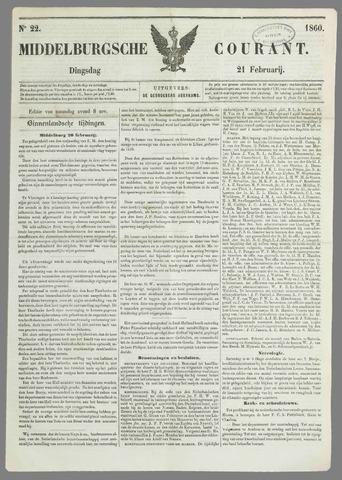 Middelburgsche Courant 1860-02-21