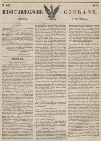 Middelburgsche Courant 1869-09-07