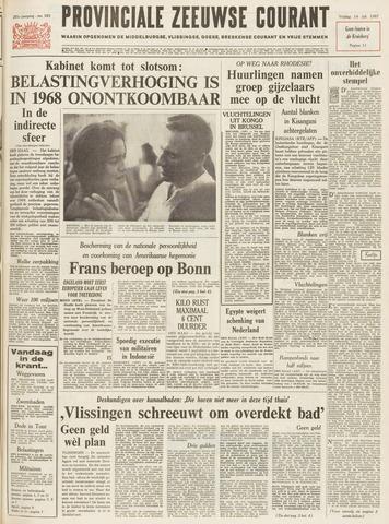 Provinciale Zeeuwse Courant 1967-07-14
