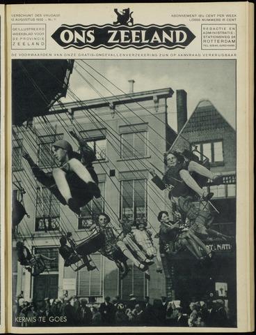 Ons Zeeland / Zeeuwsche editie 1932-08-12