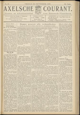 Axelsche Courant 1938-09-30