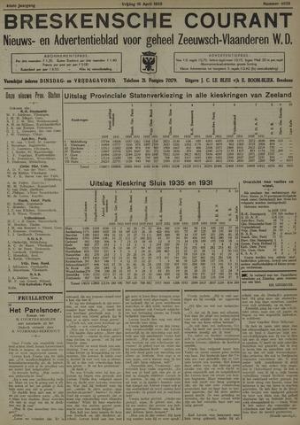 Breskensche Courant 1935-04-19