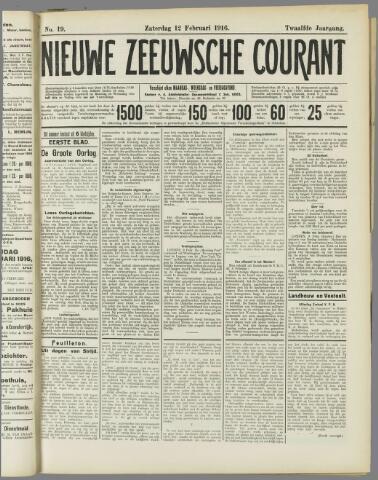 Nieuwe Zeeuwsche Courant 1916-02-12