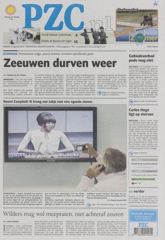 Provinciale Zeeuwse Courant 2010-08-06
