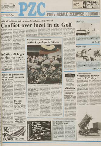 Provinciale Zeeuwse Courant 1991-01-12