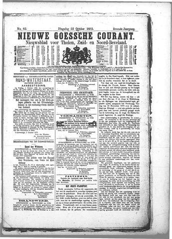 Nieuwe Goessche Courant 1872-10-22