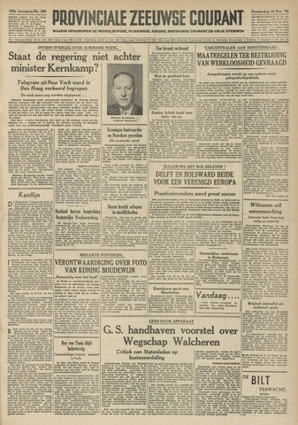 Provinciale Zeeuwse Courant 1952-12-18