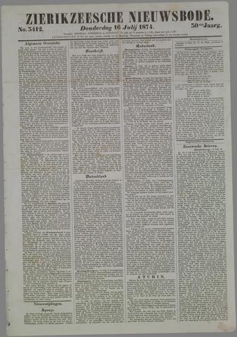 Zierikzeesche Nieuwsbode 1874-07-16