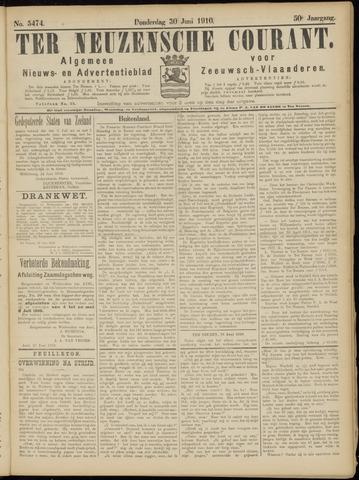Ter Neuzensche Courant. Algemeen Nieuws- en Advertentieblad voor Zeeuwsch-Vlaanderen / Neuzensche Courant ... (idem) / (Algemeen) nieuws en advertentieblad voor Zeeuwsch-Vlaanderen 1910-06-30
