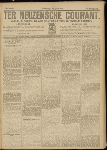 Ter Neuzensche Courant. Algemeen Nieuws- en Advertentieblad voor Zeeuwsch-Vlaanderen / Neuzensche Courant ... (idem) / (Algemeen) nieuws en advertentieblad voor Zeeuwsch-Vlaanderen 1914-06-20