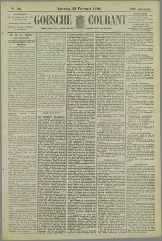 Goessche Courant 1919-02-22