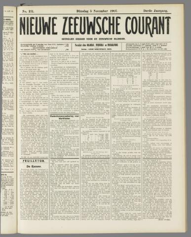 Nieuwe Zeeuwsche Courant 1907-11-05