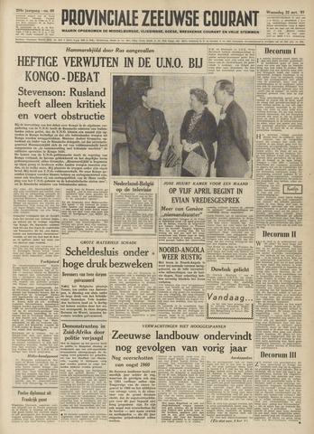 Provinciale Zeeuwse Courant 1961-03-22