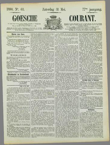 Goessche Courant 1890-05-31
