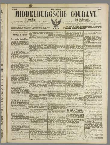 Middelburgsche Courant 1906-02-12