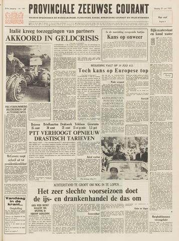 Provinciale Zeeuwse Courant 1972-06-27