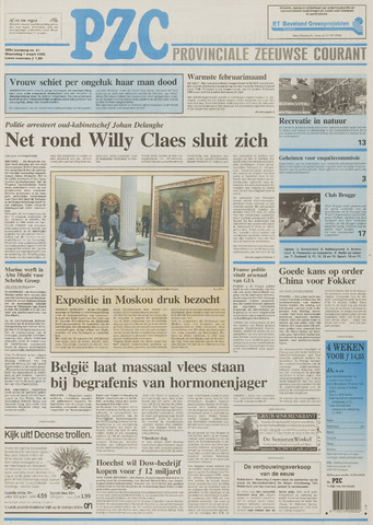 Provinciale Zeeuwse Courant 1995-03-01