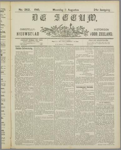De Zeeuw. Christelijk-historisch nieuwsblad voor Zeeland 1910-08-08