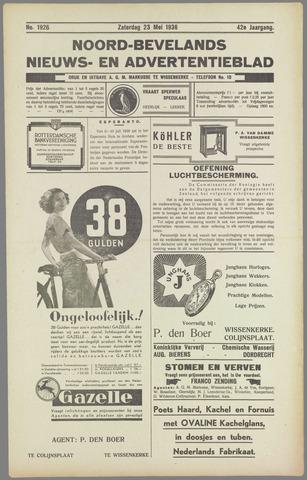 Noord-Bevelands Nieuws- en advertentieblad 1936-05-23