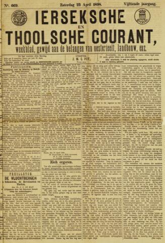 Ierseksche en Thoolsche Courant 1898-04-23