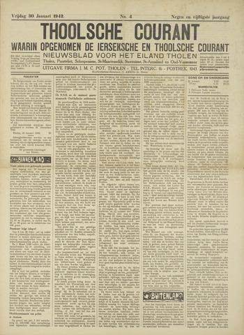 Ierseksche en Thoolsche Courant 1942-01-30