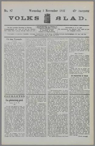 Volksblad 1922-11-01
