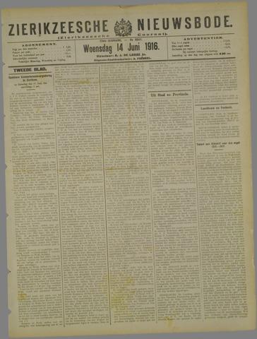 Zierikzeesche Nieuwsbode 1916-06-14
