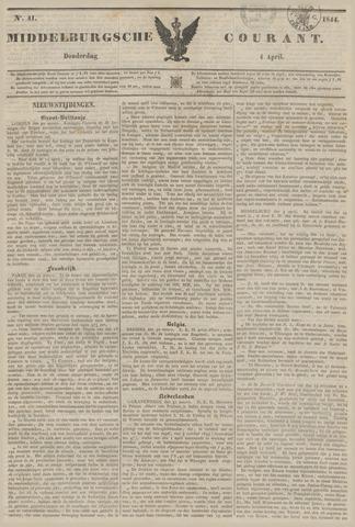 Middelburgsche Courant 1844-04-04