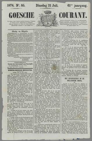 Goessche Courant 1874-07-21