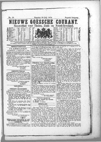 Nieuwe Goessche Courant 1874-07-28