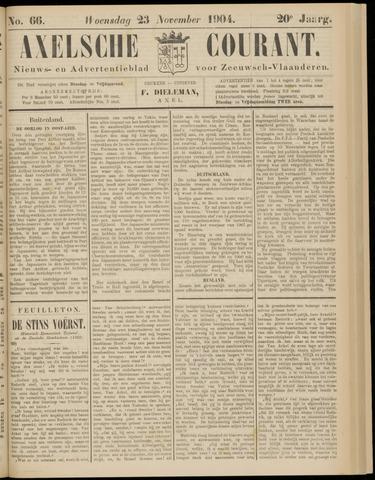 Axelsche Courant 1904-11-23
