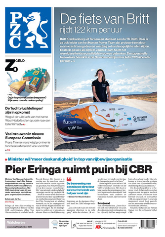 Provinciale Zeeuwse Courant 2019-09-11