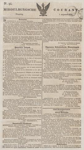 Middelburgsche Courant 1832-08-07