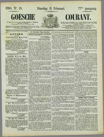 Goessche Courant 1890-02-11