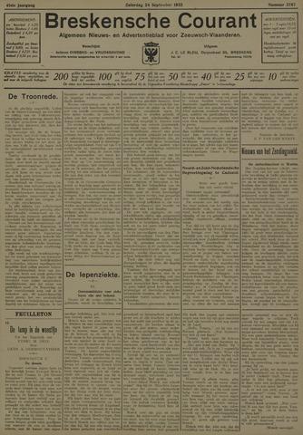 Breskensche Courant 1932-09-24