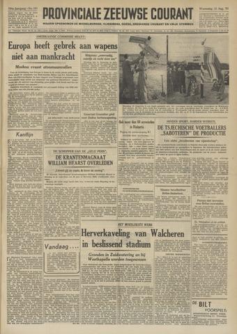 Provinciale Zeeuwse Courant 1951-08-15