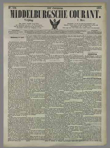 Middelburgsche Courant 1891-05-01