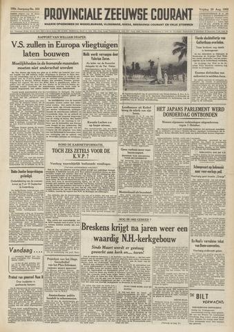 Provinciale Zeeuwse Courant 1952-08-29