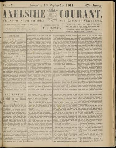 Axelsche Courant 1911-09-16