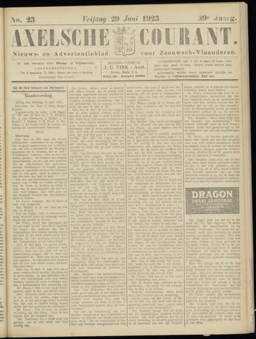 Axelsche Courant 1923-06-29
