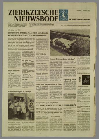 Zierikzeesche Nieuwsbode 1972-10-02