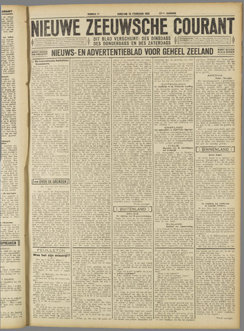 Nieuwe Zeeuwsche Courant 1931-02-10