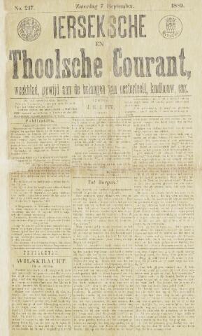 Ierseksche en Thoolsche Courant 1889-09-07