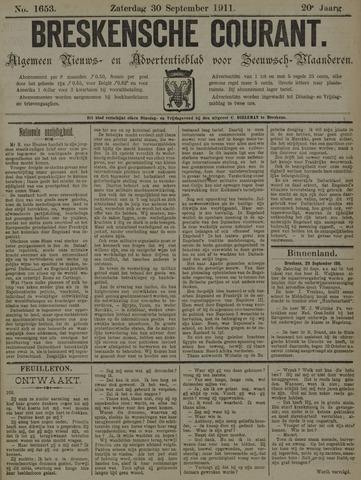 Breskensche Courant 1911-09-30